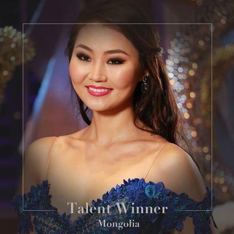 Hoa hậu tài năng và Hoa hậu được khán giả bình chọn nhiều nhất: Mông Cổ