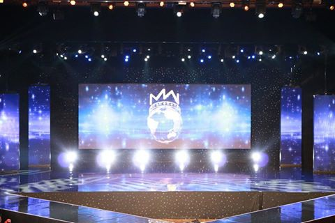 Sân khấu đêm chung kết cuộc thi Hoa hậu Thế giới 2016