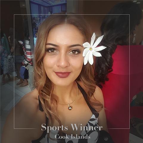 Hoa hậu Thể thao: Cook Islands