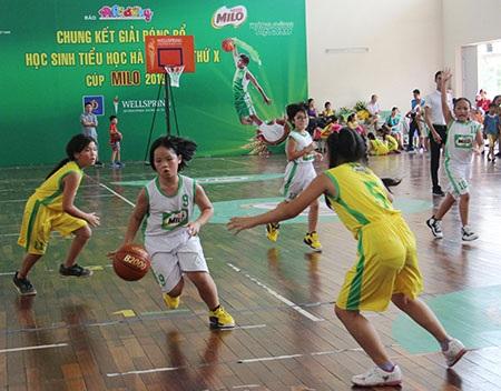 Đội tuyển bóng rổ Ngôi Sao Hà Nội bảo vệ thành công ngôi vô địch Cúp Milo 2016 - 1