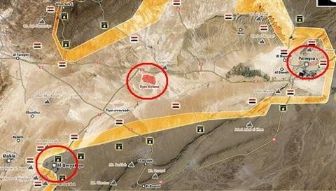 Nếu mất sân bay T4, quân đội Syria có khả năng sẽ mất nốt al-Quraytayn