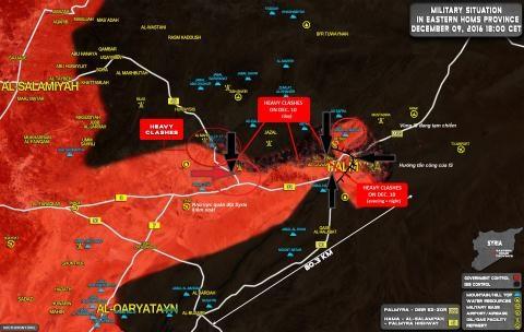 Thành cổ Palmyra, quân Nga lập đòn thoái lui và tổng lực trở lại.