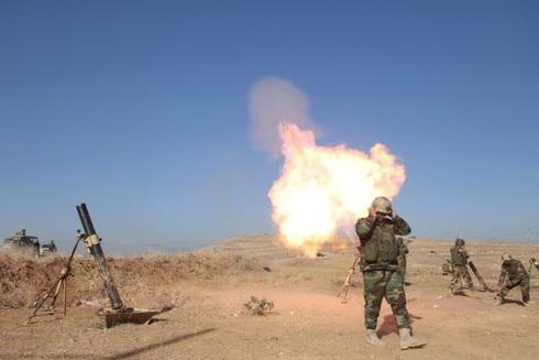 Lực lượng Peshmerga tấn công IS tại Mosul