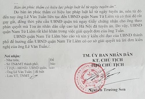 Thường trực tiếp công dân của Quốc hội đề nghị làm rõ việc xếp xó bản án của TAND Cấp cao - Ảnh 4.