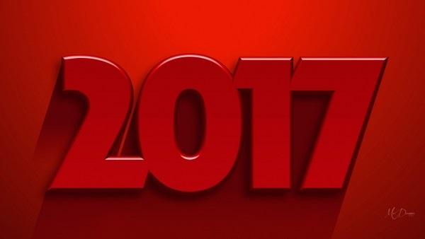 Bộ sưu tập hình nền tuyệt đẹp đón năm mới 2017 - 24
