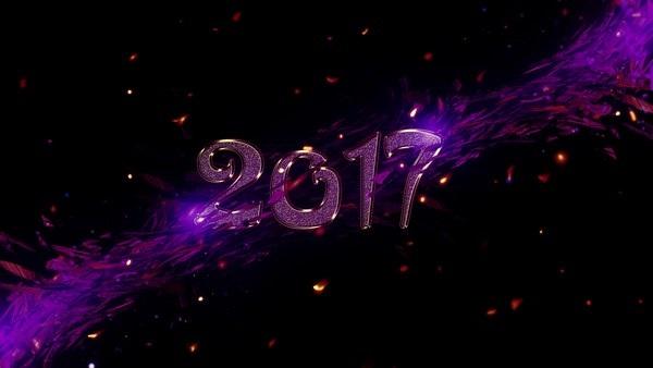 Bộ sưu tập hình nền tuyệt đẹp đón năm mới 2017 - 25