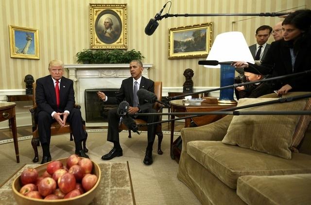 Ông Trump cho biết cuộc gặp dự kiến diễn ra từ 10-15 phút nhưng cuối cùng đã kéo dài tới 90 phút.