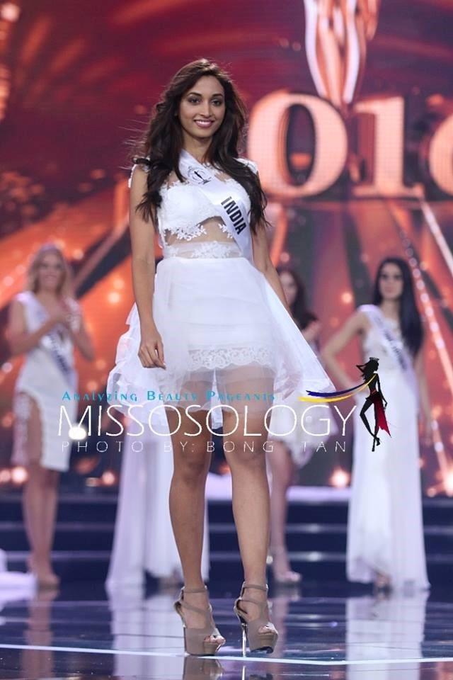 Hoa hậu Srinidhi Ramesh Shetty sở hữu chiều cao 172cm và đã giành nhiều giải tại các cuộc thi nhan sắc trong nước.