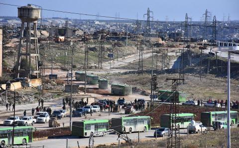 Nửa vạn phiến quân rời Aleppo cùng tuyên bố của Putin - 3