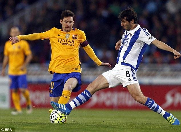 Messi đang có được phong độ cao thời điểm này