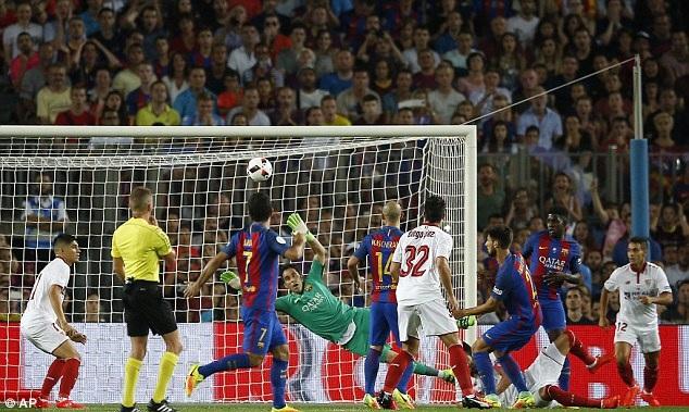 Những cuộc so tài Sevilla-Barcelona tại Sanchez Pizjuan luôn đầy hấp dẫn