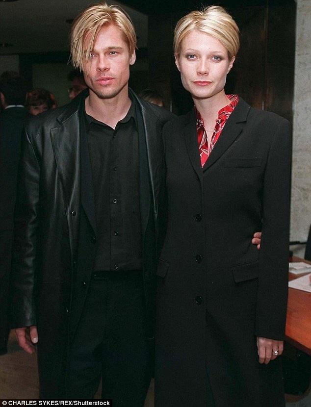 Brad Pitt và Gwyneth Paltrow từng hò hẹn từ năm 1994 đến năm 1997.