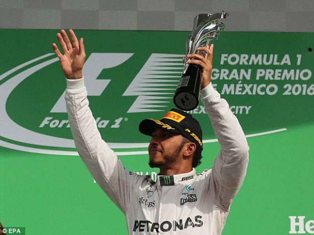 Lewis Hamilton thắng áp đảo tại MexicoGP - 9