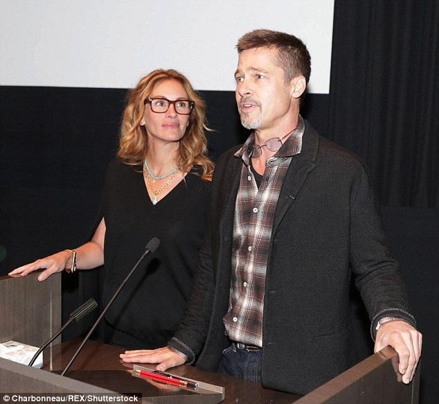 Brad Pitt tham dự sự kiện tại Los Angeles, Mỹ, ngày 9/11.