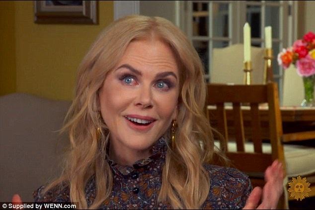 Nicole Kidman nghẹn ngào khi nhắc đến hai con gái - 2
