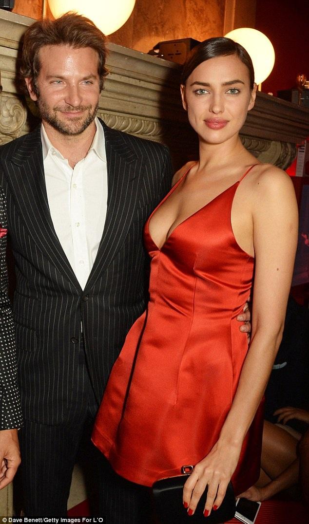 Irina và Bradley sẽ lên chức bố mẹ vào mùa xuân năm sau.