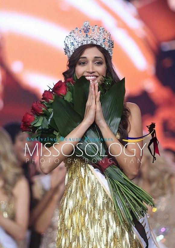 Srinidhi Ramesh Shetty trở thành người đẹp thứ hai của Ấn Độ giành danh hiệu hoa hậu siêu quốc gia.