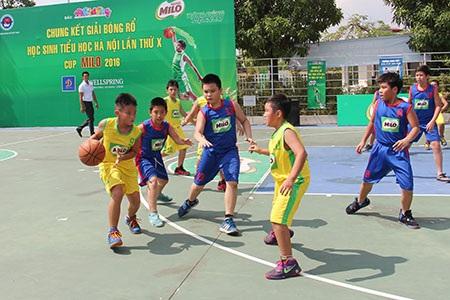 Đội tuyển bóng rổ Ngôi Sao Hà Nội bảo vệ thành công ngôi vô địch Cúp Milo 2016 - 2