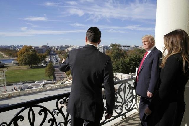 Cũng tại Điện Capitol, ông Trump đã có cuộc gặp với Chủ tịch Hạ viện Paul Ryan.