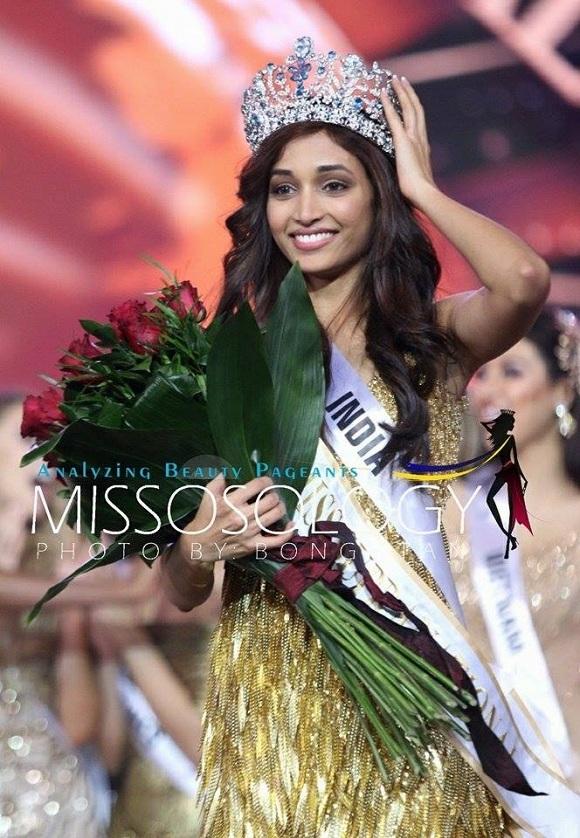 Người đẹp Ấn Độ - Srinidhi Ramesh Shetty đăng quang tại cuộc thi Hoa hậu siêu quốc gia 2016, ngày 2/12.