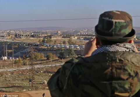 Nửa vạn phiến quân rời Aleppo cùng tuyên bố của Putin - 6