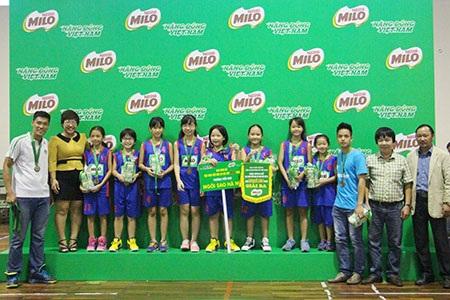 Đội tuyển bóng rổ Ngôi Sao Hà Nội bảo vệ thành công ngôi vô địch Cúp Milo 2016 - 3