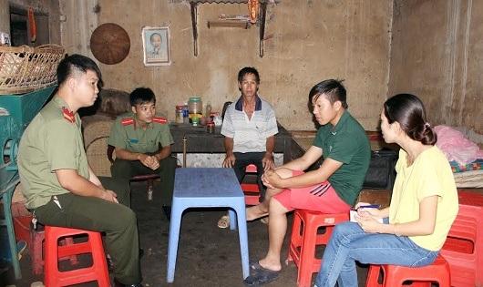 Anh Lô Đức Kim kể lại quá trình mình bị đánh và bị bắt ở Trung Quốc.