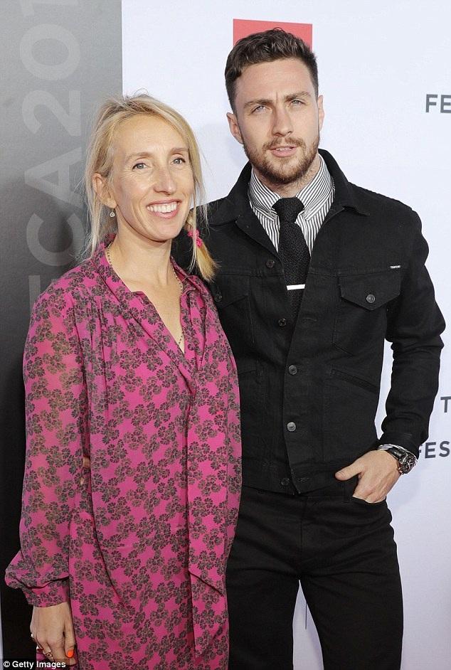 Sam và Aaron hẹn hò từ năm 2009 khi họ gặp nhau tại trường quay bộ phim Nowhere Boy - khi đó chàng mới 19 tuổi còn nàng đã 42 tuổi. Bất chấp mọi chỉ trích, rào cản, cặp đôi kết hôn vào năm 2012 và đã có với nhau 2 đứa con