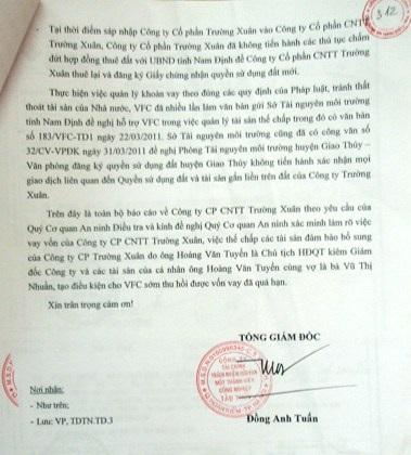Ẩn khuất vụ án tham ô tại Công ty Trường Xuân: TAND Cấp cao chốt lịch xử phúc thẩm - Ảnh 4.