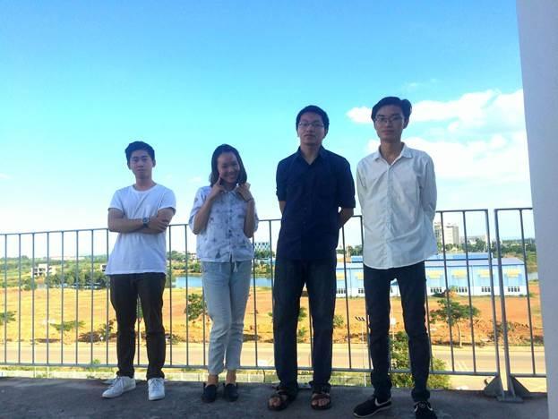 Nhóm Kadima gồm Phan Đăng Lâm (trưởng nhóm), Phạm Anh Tuấn, Len Văn Hậu và Nguyễn Ngọc Hà.