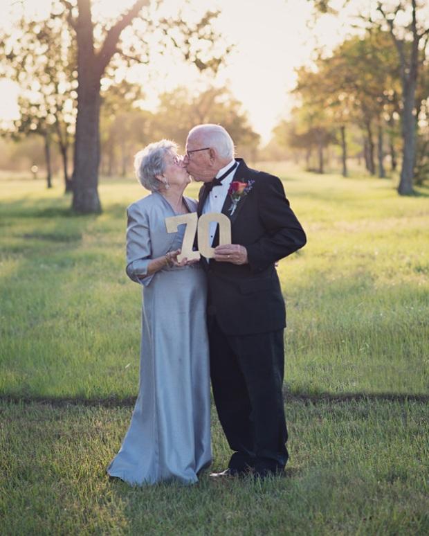 Cặp vợ chồng chờ 70 năm để được chụp ảnh cưới - 6