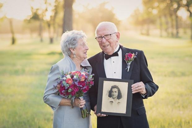 Cặp vợ chồng chờ 70 năm để được chụp ảnh cưới - 4