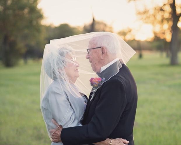 Cặp vợ chồng chờ 70 năm để được chụp ảnh cưới - 2