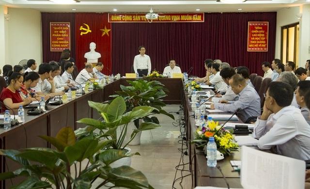 Buổi làm việc của Phó Thủ tướng Vũ Đức Đam với Bộ KH&CN về công tác Sở hữu trí tuệ ngày 30/9.