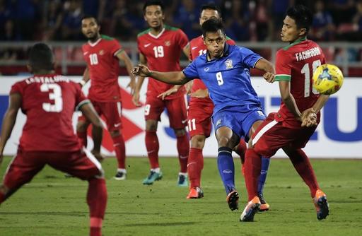 Chatthong tỏa sáng với cú đúp vào lưới Indonesia