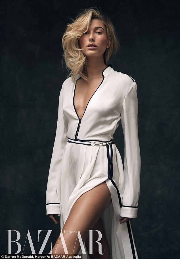 Hailey Baldwin đẹp quyến rũ trên tạp chí Harpers Bazaar Úc số tháng 11