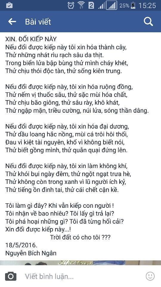 """Cư dân mạng """"choáng"""" với bài thơ của học sinh lớp 8 - 1"""