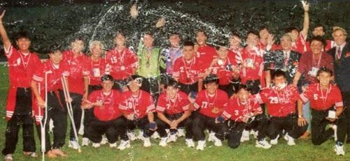 ĐT Việt Nam giành HCĐ Tiger Cup 1996