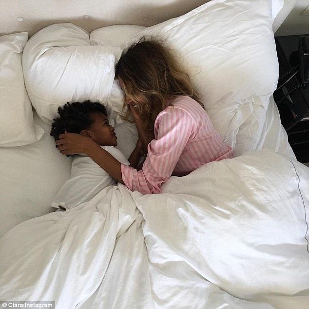 Bạn thân của cô Kim đã có 1 con trai 2 tuổi tên là Future Zahir với tình cũ - rapper Future,