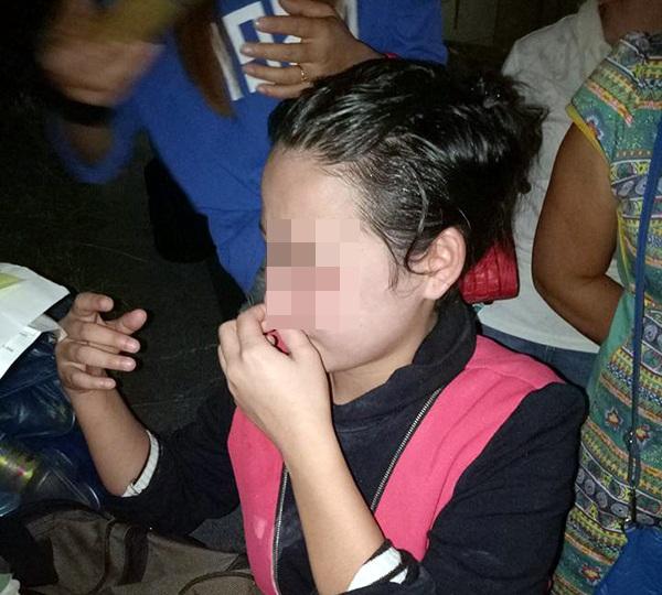 Hình ảnh trên facebook của cô dâu Việt bị lạc ở Trung Quốc.