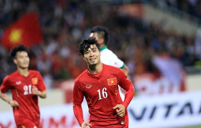 Công Phượng chưa được ra sân ở trận đấu với Myanmar