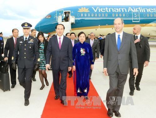 Chủ tịch nước Trần Đại Quang bắt đầu chuyến thăm cấp Nhà nước tới Italy - 1