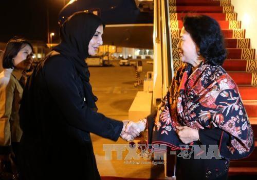Chủ tịch Quốc hội bắt đầu tham dự Hội nghị Thượng đỉnh các Nữ Chủ tịch Quốc hội thế giới - 1