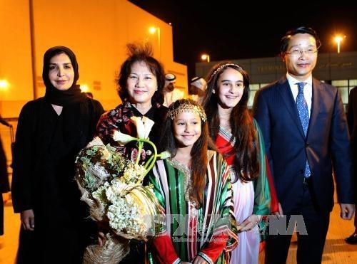 Chủ tịch Quốc hội Nguyễn Thị Kim Ngân tới UAE tham dự Hội nghị Thượng đỉnh các Nữ Chủ tịch Quốc hội thế giới lần thứ 11.