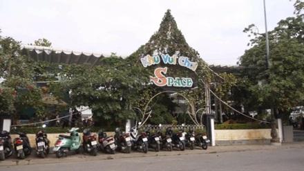 Một khu vui chơi giải trí được hộ kinh doanh đầu tư khá lớn có vị trí đắc địa trong khuôn viên Cung Việt Tiệp.