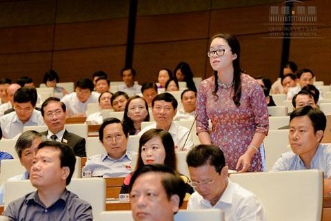 ĐBQH Dương Minh Ánh - TP. Hà Nội chất vấn Bộ trưởng Bộ Giáo dục và Đào tạo.