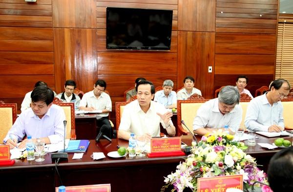 Bộ trưởng Đào Ngọc Dung: Quan tâm tới sinh kế người dân chứ không chỉ có điện, đường - 1