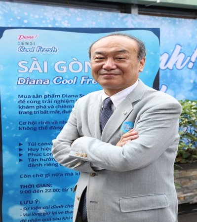 Ông Atsushi Iwata – Phó tổng giám đốc thứ nhất công ty cổ phần Diana Unicharm