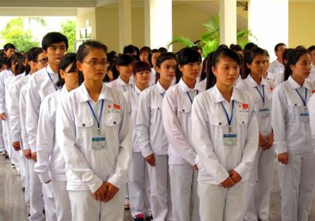 Khóa đào tạo ứng viên hộ lý, điều dưỡng viên làm việc tại Nhật Bản.