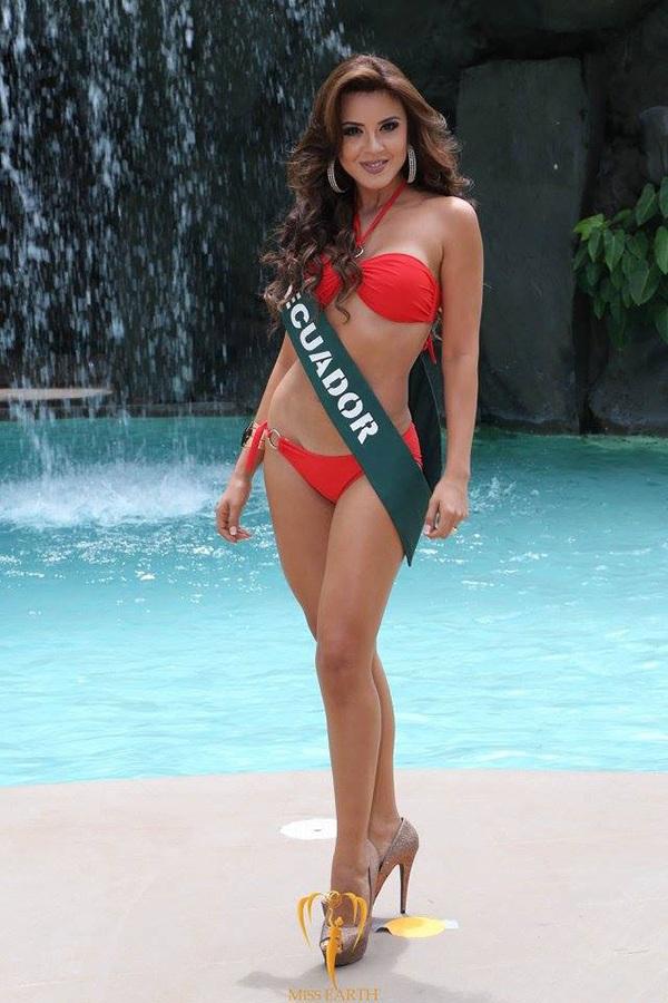 Katherine Elizabeth Espín vừa đăng quang ngôi vị hoa hậu trái đất 2016